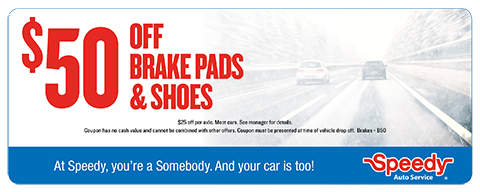 Brake pads and Shoes - $50